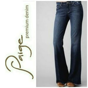 PAIGE Robertson flare jeans